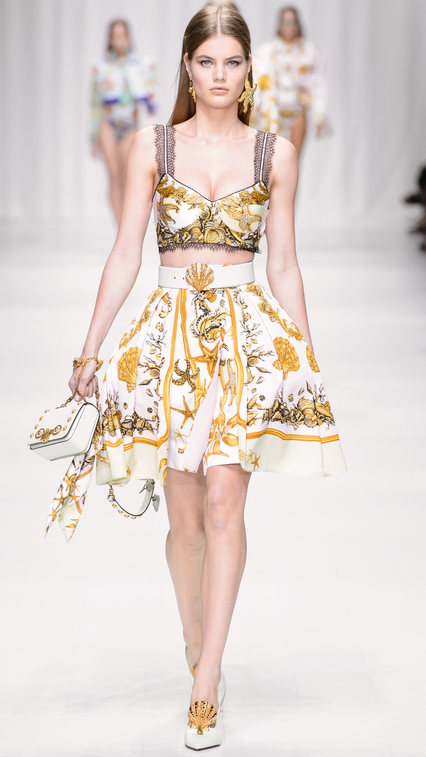 Best Of VERSACE Spring 2018 • IN FASHION Daily